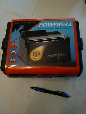 PoweRoll by TOP-O-Matic Electric Cigarette Machine/with case.NEW