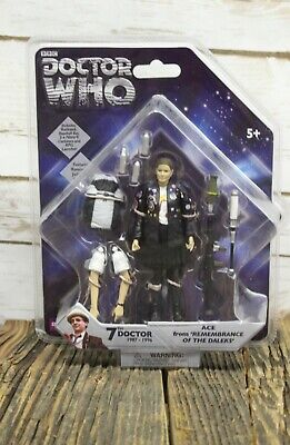 Underground Toys Doctor Who 7th Doctor ACE Remembrance Of The Daleks Figure New