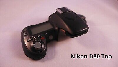 Nikon D80 digital camera top complete with electronics etc