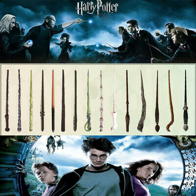 """Harry Potter Hermione Lord Voldemort 14"""" Magical Wand Replica Cosplay In Box"""