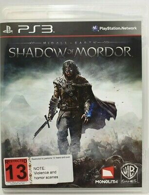 Middle Earth: Shadow Of Mordor (Sony PlayStation 3 PS3)