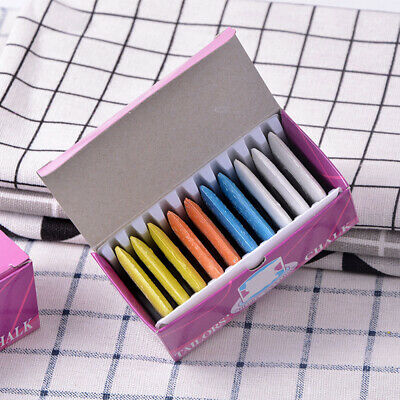 10PCS New DIY Markers Colorful  Sewing Fabric Chalk Dressmaker Tailors Erasable