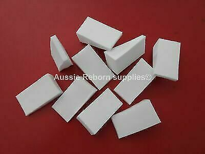 10 Painting Wedges Sponge Reborn Baby Skin Effect
