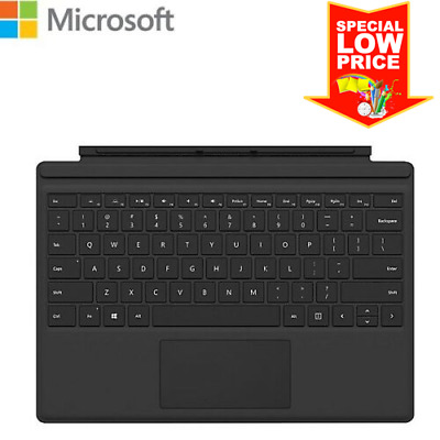 Microsoft Surface Pro Type Cover Magnetic Keyboard Black Backlit (1725)