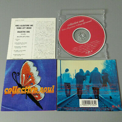 Collective Soul - Hints, Allegations And Things Left Unsaid JAPAN CD VG #1101