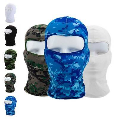 Outdoor Ski Motorcycle Cycling Balaclava Lycra Full Face Mask Neck Ultra SELL