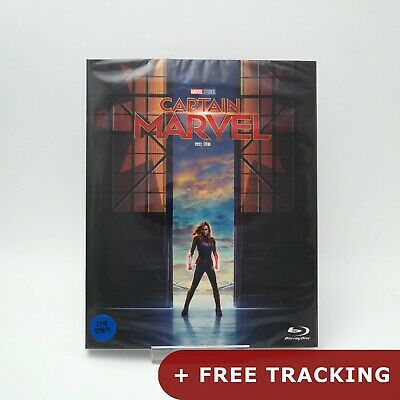 Captain Marvel - Blu-ray Slip Case Edition (2019) w/ Goose Cards