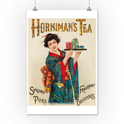 Horniman's Tea c. 1898 - Vintage Advertisement (Posters, Wood & Metal Signs)