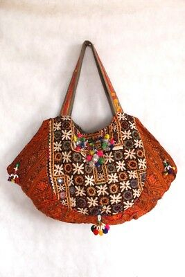Tribal Shoulder Tote Ethnic Shopping Vintage Banjara Bags Bohemian Purse Indian