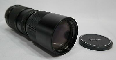 Vivitar MD Mt 85-205mm f/3.8 Lens  with case TF