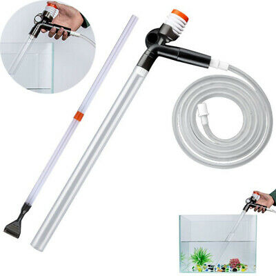 Fish Tank Cleaning Kit Water Changer Filter Gravel Cleaner Tools for Aquarium