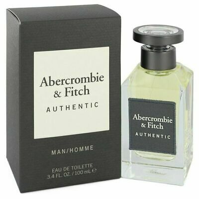 Abercrombie and Fitch Authentic Abercrombie and Fitch EDT Spray 3.4 oz / 100 ml