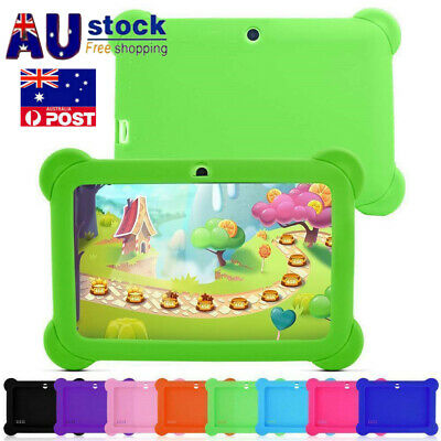 "7"" Inch Universal Soft Silicone Cover Case For Android Kids Child Tablet PC AU"