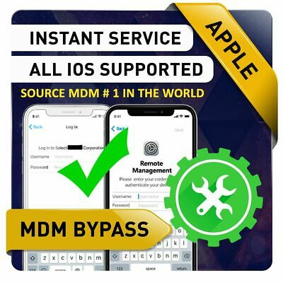 🚀Apple Mdm Bypass, Unlock Remote Profile Remove,All Ios Supported Instant🔥