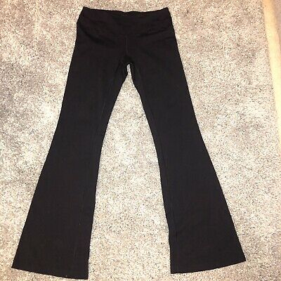 88cef6b6da4 LUCY POWER LEGGINGS Pants Women Size XS Black Stretch Flared Fitted ...