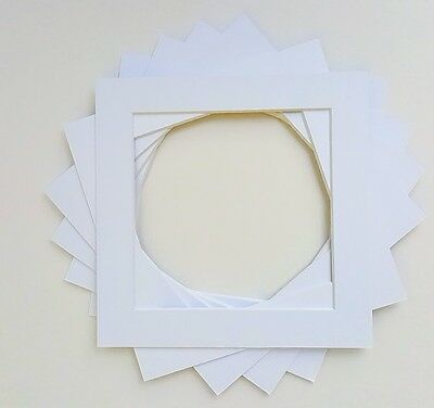 Pack of 5 Picture Photo Mounts/ Photo Frames Various Sizes