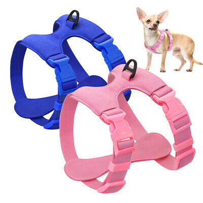 Dog Harness for Small Dogs Chihuahua Yorkie Pug Suede Leather Puppy Cat Dog Vest
