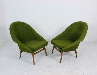 Vintage Hungarian Midcentury Tub Cocktail Chairs, 1960s