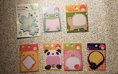 Cute Animal and Insects Sticky Notes