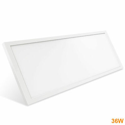 Panel LED 90x30cm Superficie 36W Blanco Plafon rectangular oficina 3600Lm LED26