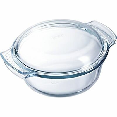 Pyrex Classic - 3.5Ltr Round Casserole With Lid 23.5 dia x 10cm (Made in the U.S