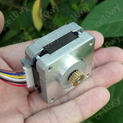 39mm Stepper Motor 4-phase 5-wire 1.8° Stepping Motor Double Ball Bearing Hybrid