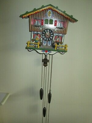 Black Forest Cuckoo clock by E Schmeckenbecker