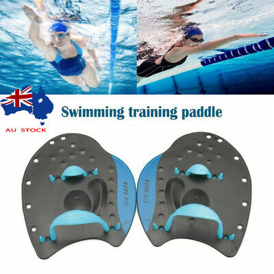 Swimming Training Hand Paddles Gloves Swim Gear Water Sports Anti-slip Adult Kid
