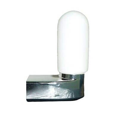 Well Glass corner light Fitting with PC Diffuser  c//w bracket made by eterna