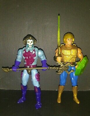 14x6cm FIGURINE NEW ADVENTURES OF HE MAN 1988 MUSCLOR MALAYSIA