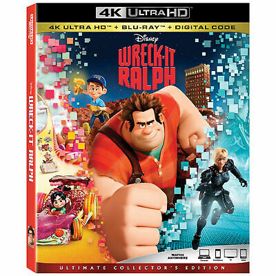 Wreck-It Ralph (4k Ultra HD/Blu-ray/Digital HD)