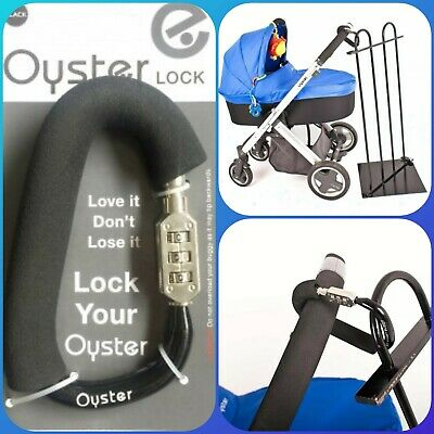 Babystyle Oyster Lock, Buggy, stroller lock Lock your buggy or your bags