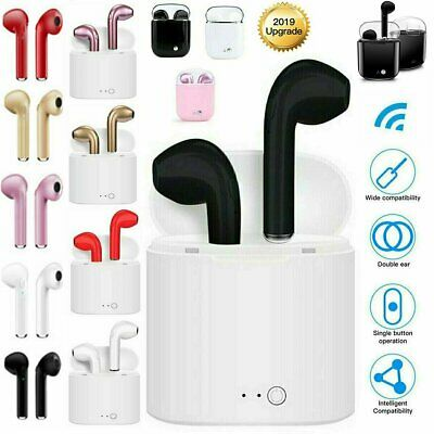 Wireless Bluetooth Earbuds Earphones Headphones for Apple iPhone Samsung Android