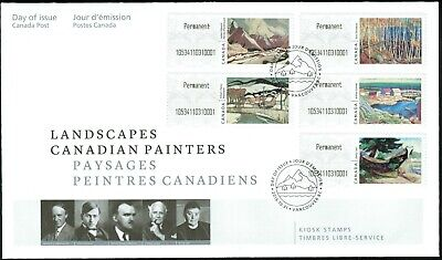 Canada Unitrade CP19i to CP23i Self-Serve Kiosk Stamp, FDC