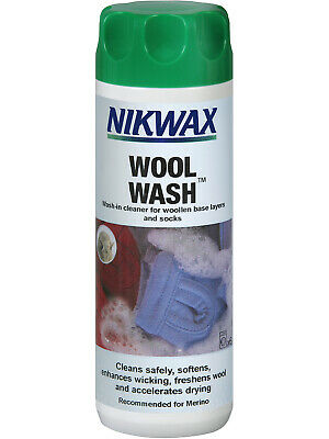 NEW Nikwax Aftercare Wool Wash 300ml After Care No Colour