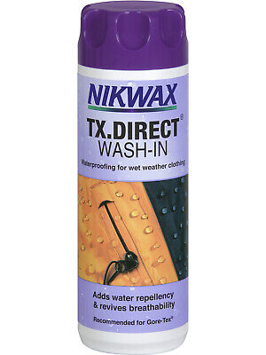 NEW Nikwax Aftercare TX Direct 300ml Wash-In After Care No Colour