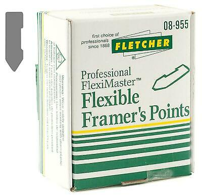 Fletcher Fleximaster Framer's Points 16mm 3,700 Picture Framing
