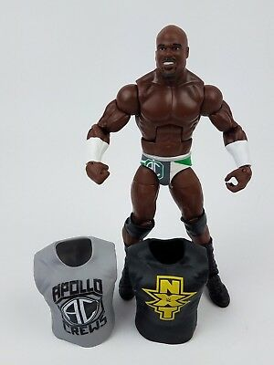 WWE Wrestling Elite Series #49 Apollo Crews Action Figure