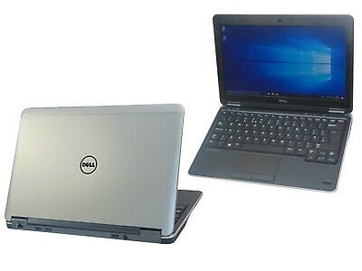 Dell Latitude E7240 Core i5-4300U 8GB Ram 128GB SSD Windows 10 Webcam Laptop