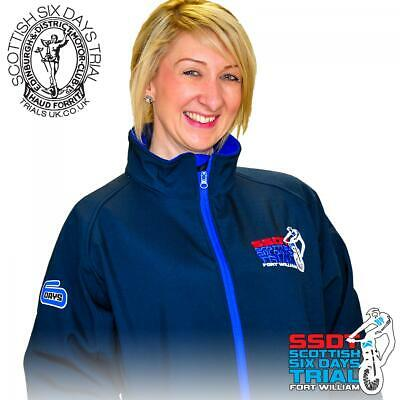 Scottish Six Days Trial Official -The Scottish- Team Contrast Soft-Shell Jacket
