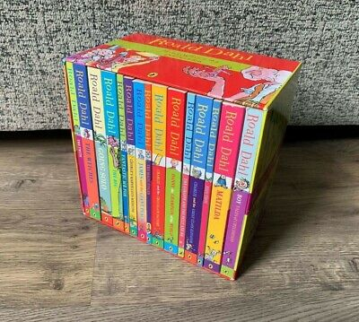 Roald Dahl Phizz Whizzing Collection Boxed Book Set- 15 Books- Children's Books