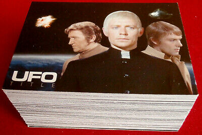 UFO - Cards Inc - COMPLETE BASE SET OF 100 Cards - 2004 - Gerry Anderson