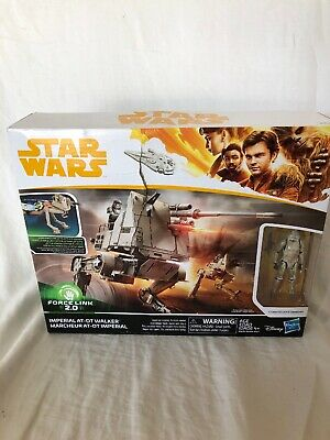 Star Wars Force Link 2.0 Imerial At-DT Walker New with Damaged Package