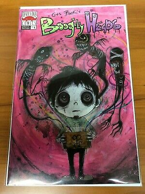 Boogily Heads #1 2019 Devils Due Comics Special Edition Variant Gus Fink