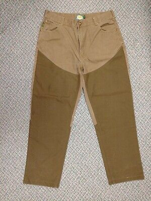 757fbb348a216 Cabelas Upland Hunting Brush Briar Field Pants 36x32 (measure 36x31)