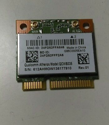 "Toshiba Satellite C55-A5190 15.6"" Genuine WiFi Wireless Card V000310660 QCWB335"