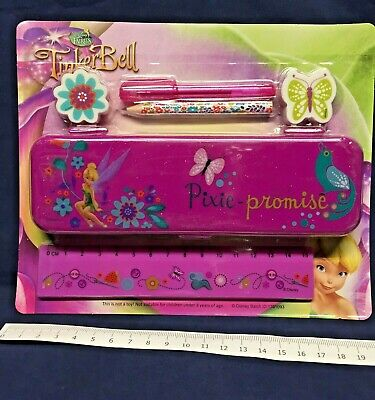 112 Packs Tinkerbell Stationery Set Fairy Wholesale Toys Pocket Money Job Lot