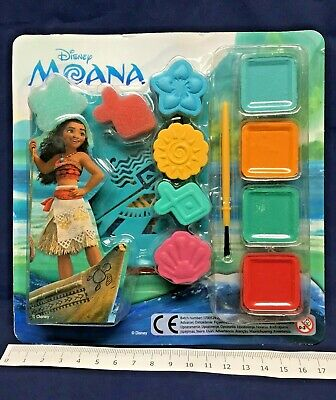 102 Packs Moana Activity Paint Set Fairy Wholesale Toys Pocket Money Job Lot