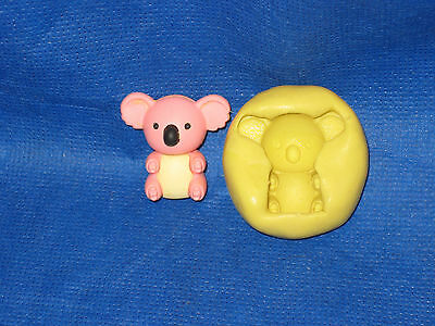 Koala Silicone Mold #2 for Chocolate Candy Resin Fimo Clay Fondant Soap Candle