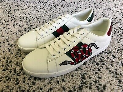 b62b8a386 GUCCI NEW ACE Loved Sneaker Size 16 US 17 - $469.00   PicClick